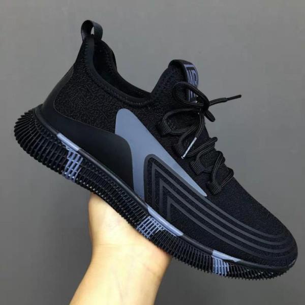 (Có 2 Màu) Giày sneaker thể thao nam - BB đen viền đỏ thoáng khí - B end T Shop