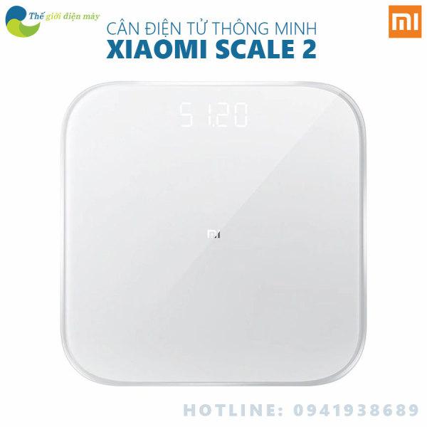 [Bản quốc tế] Cân điện tử thông minh Xiaomi Scale 2 - phân phối bởi Digiworld - Bảo hành 6 tháng