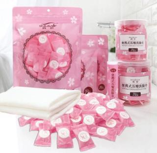 HY Khăn giấy nén Khăn nén COMBO 10 viên khăn ướt (20X22CM) thumbnail
