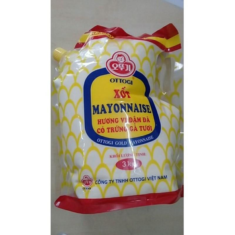 Sốt Mayonnaise Ottogi 3 Kg (Siêu Tiết Kiệm)