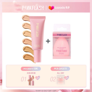 PINKFLASH Makeup Foundation Full Coverage Waterproof Long-wearing 2 Pieces 55g thumbnail