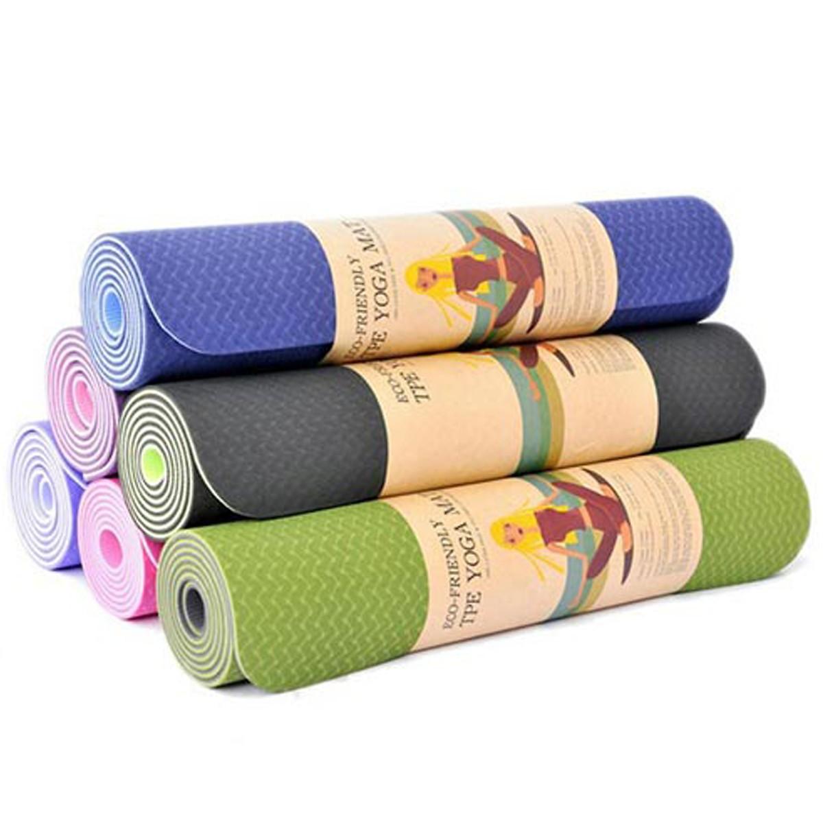 Thảm Tập Yoga 2 Lớp Cao Cấp, Thảm Tập Gym - Chính Hãng MiDoctor Đang Trong Dịp Khuyến Mãi