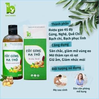 Cốt Gừng Thảo dược tan mỡ 330ml - Bảo Nhiên (Việt Nam) thumbnail