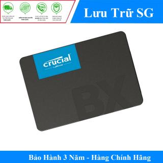 Ổ cứng Gắn Trong SSD Crucial BX500 120GB 2.5 SATA 3 - CT120BX500SSD1 - Hàng Phân Phối Chính Thức thumbnail