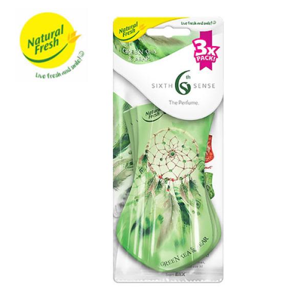 Miếng Thơm Tinh Dầu Thiên Nhiên Nụ Hoa Treo Ô Tô, Tủ Quần Áo Natural Fresh