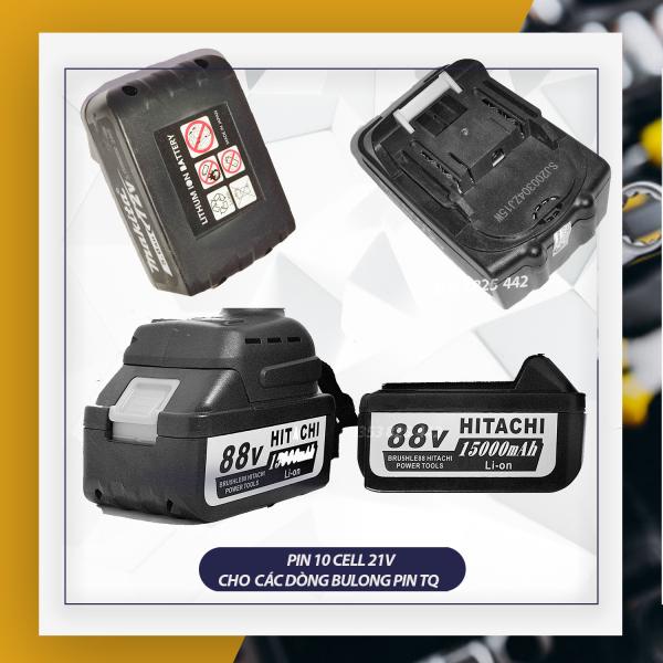 Pin 10 cell 72v 88v 99v 118v dành cho dòng makita, hitachi, Dw, Ken