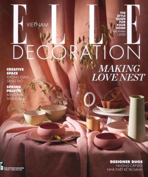 Mua Không Gian Phong Cách - Elle Decoration (Ấn Phẩm Tháng 1/2020)
