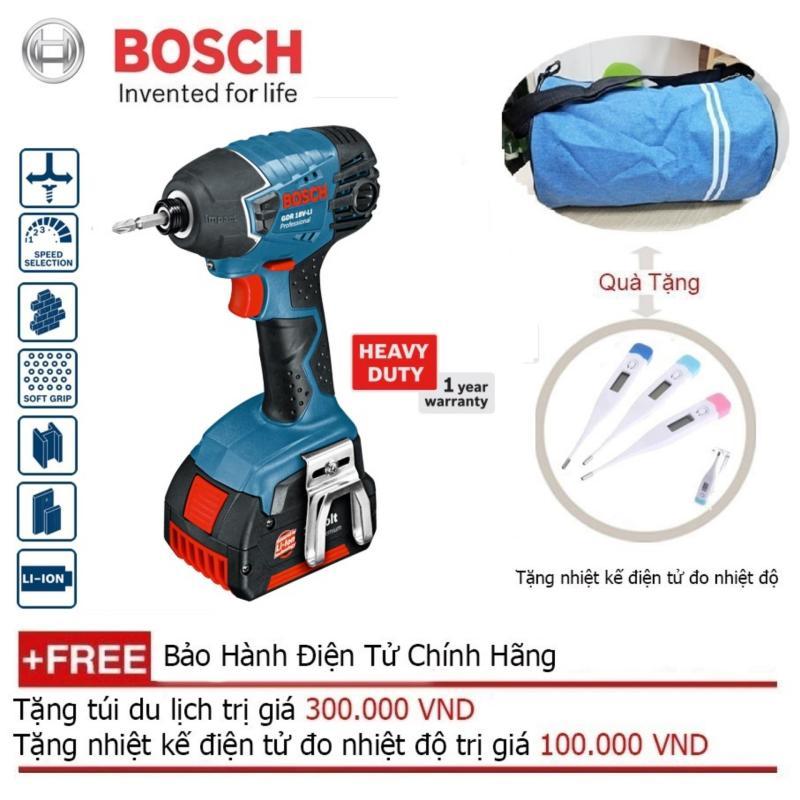Máy vặn vít dùng pin Bosch GDR 180-LI( Solo) + Quà tặng balo du lịch