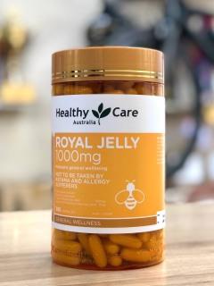 Sữa ong chúa Healthy Care Royal Jelly 1000mg, 365 Viên thumbnail