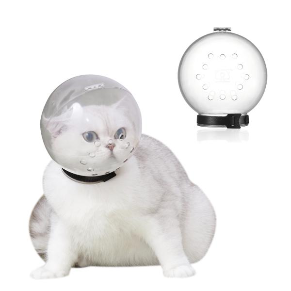 ZHUAFENGXI 1 Chiếc Nhai Chống Cắn, Mũ Trùm Đầu Thoáng Khí Có Thể Điều Chỉnh Cho Mèo