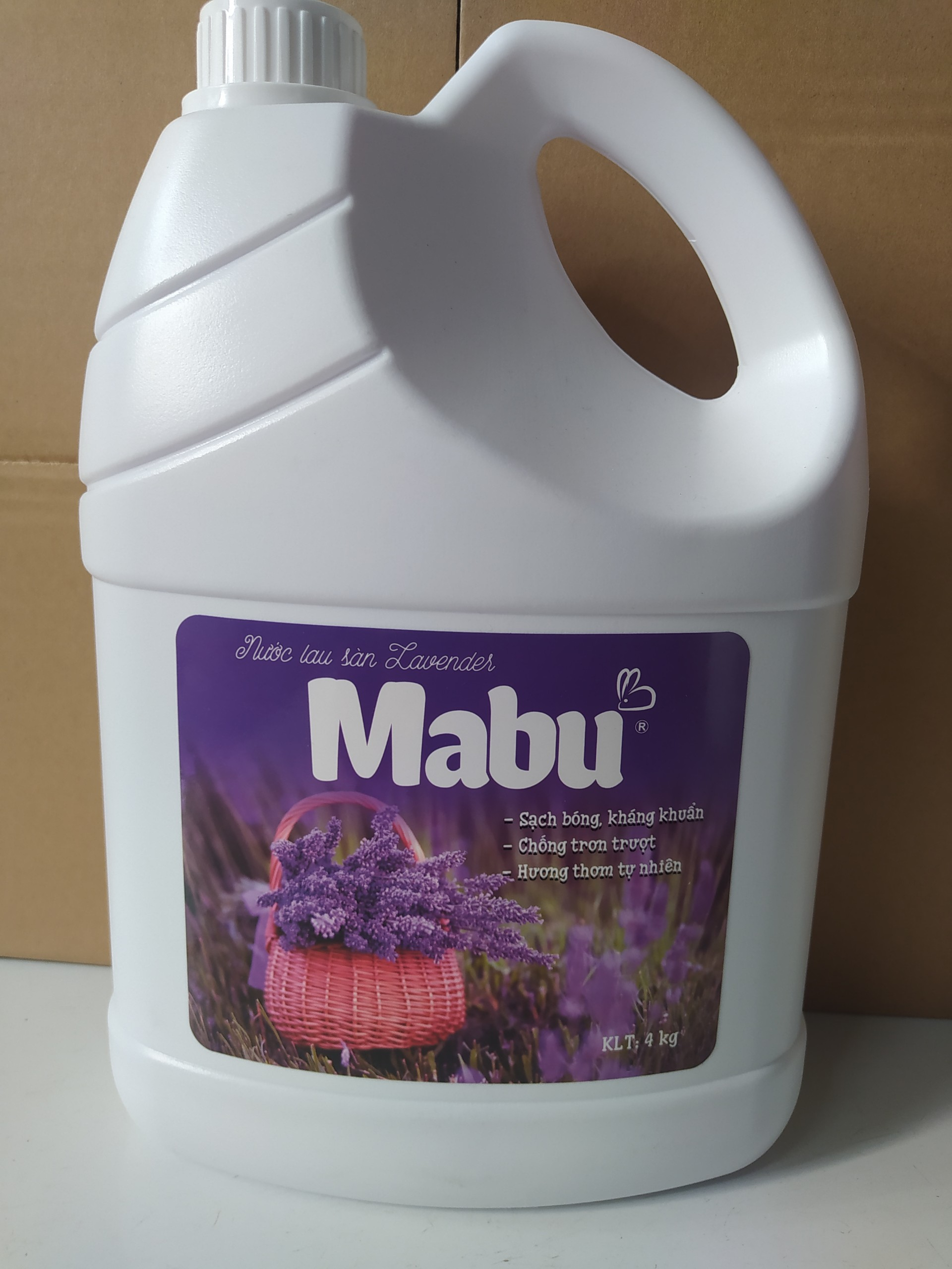 Không Nên Bỏ Lỡ Giá Sốc với Nước Lau Sàn Mabu 4kg Hương Lavender