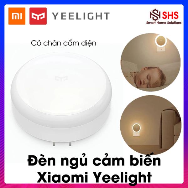Đèn cảm biến hồng ngoại Xiaomi Yeelight, BH 6 THÁNG, YLYD03YL - Đèn hồng ngoại Xiaomi Nightlight, cảm biến ánh sáng tự động bật tắt, hình tròn, 0.4W - 2500K, SHS Vietnam