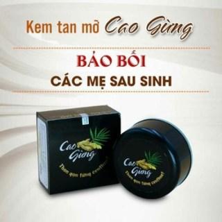 [Diệt Mỡ Bụng] Cao Gừng Tan Mỡ Thiên Nhiên Việt - Có Tem Chống Hàng Giả thumbnail