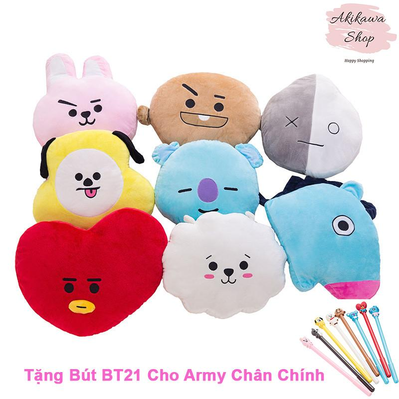 Gấu Bông Doll BTS, BT21 Mềm, Mịn: Tata, Cooky, Chimmy, Shooky, Koya, Mang, RJ