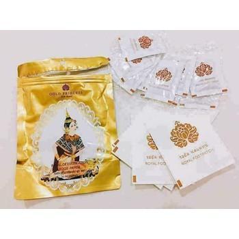 Miếng Dán Thải Độc Gan Bàn Chân Gold Princess - Thái Lan tốt nhất