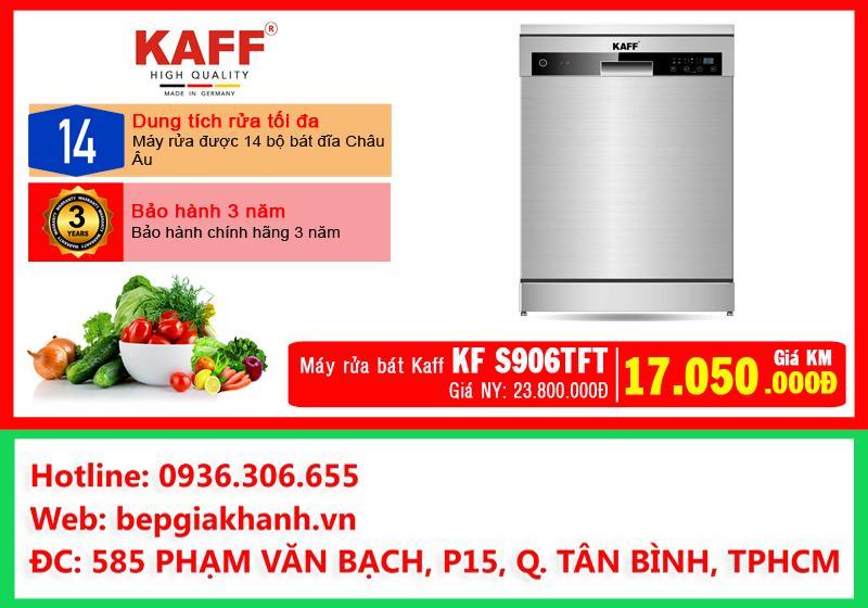 Máy rửa bát Kaff KF S906TFT, máy rửa chén, máy rửa chén bát