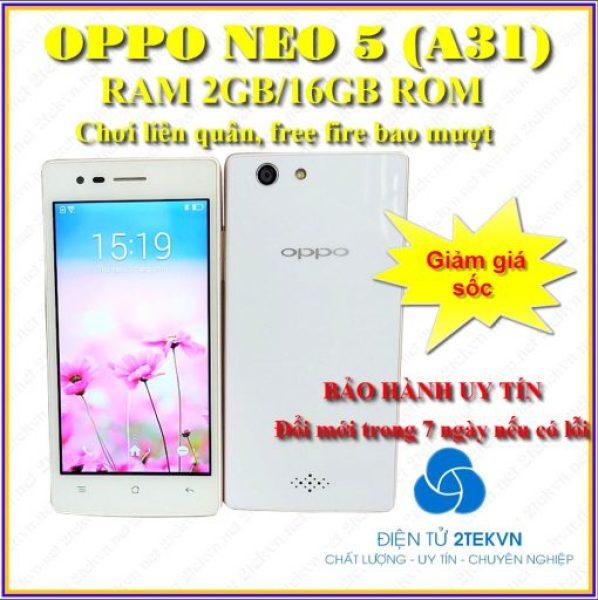 [Free ship] Điện thoại cảm ứng OPPO neo 5 RAM 2G/16GB giá rẻ-Bảo hành 12 tháng