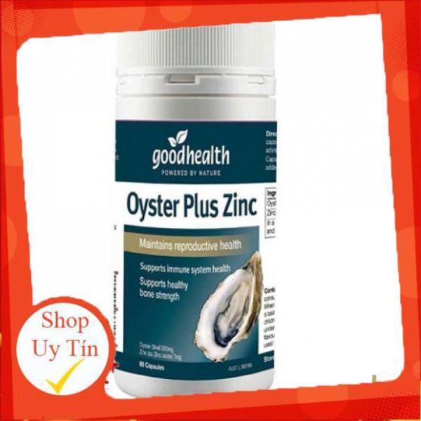 Tinh chất hàu Úc Goodhealth Oyster Plus Zinc 60 viên cao cấp
