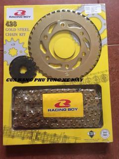 Bộ sên nhông dĩa RCB vàng cao cấp cho xe Exciter 135 Exciter 150 thumbnail