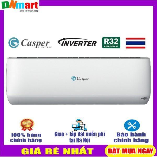 Điều hòa Casper GH-09TL32 2 chiểu inverter 9000btu R32 (Giao hàng miễn phí ở Hà Nội)