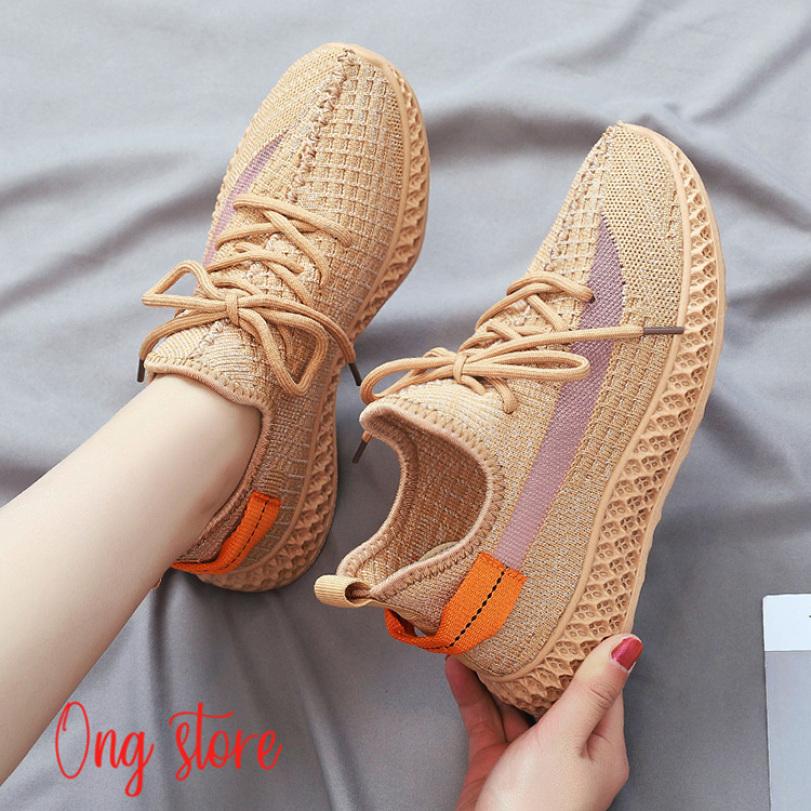 Giày thể thao nữ giày sneaker đế tổ ong siêu đẹp và êm giá rẻ
