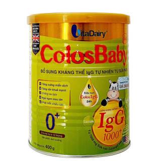 Sữa ColosBaby Gold 0+ 400g (0 - 12 tháng) thumbnail