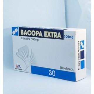 Viên Uống Tăng Cường Trí Nhớ Bacopa Extra- Hỗ trợ tuần hoàn não, ngăn ngừa teo não, tai biến mạch máu não,tăng khẳ năng tập trung, cải thiện trí nhớ thumbnail