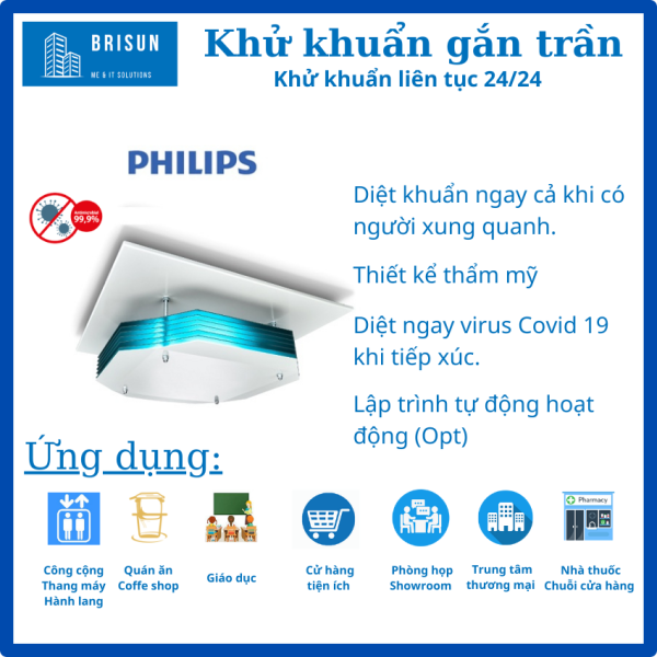 [FreeShip ] Đèn UVC gắn trần Philips diệt khuẩn, khử trùng–Bóng Đèn UV, UV-C Philips diệt Virus, vi khuẩn.-Đèn năng lượng-Tia cực tím-Trợ Sáng di chuyển đa năng. Diệt Vi Rút Covid 19-Virus Corona- Sars Cov 2, [Chuẩn Y tế],Nhập khẩu