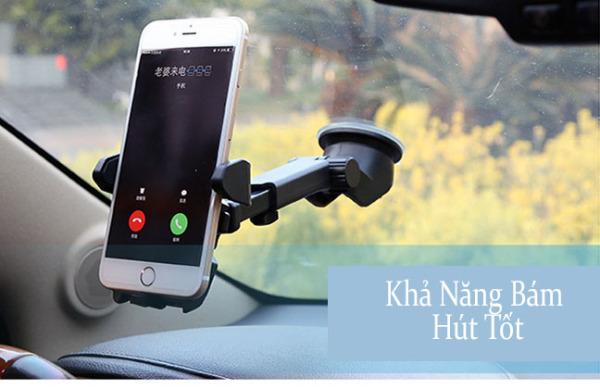 Giá Đỡ Điện Thọai Trên Xe Hơi Long Neck – Đảm bảo an toàn hơn khi lái xe - Tương thích với hầu hết các loại điện thoại di động