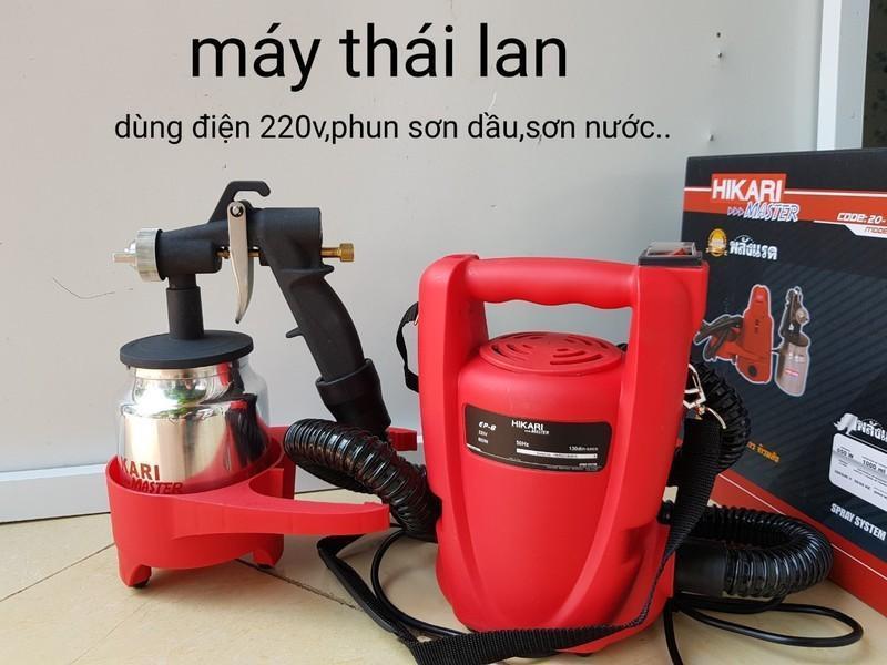 Máy phun sơn cầm tay Thái Lan Hikari