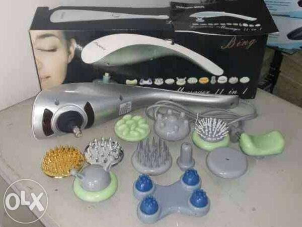 Máy massage cầm tay toàn thân hồng ngoại 11 đầu đa năng SL-111