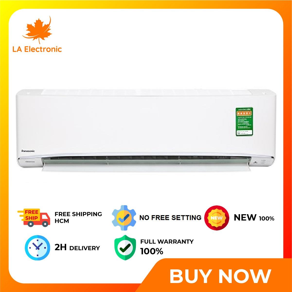 [GIAO HÀNG 2 - 15 NGÀY, TRỄ NHẤT 15.08] Trả Góp 0% - Máy lạnh Panasonic Inverter 2 HP CU/CS-XU18UKH-8 - Miễn phí vận chuyển HCM
