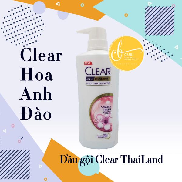 Dầu gội Clear Hoa Anh Đào Thái Lan 450ml