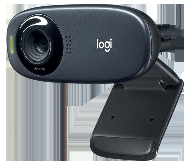 Bảng giá Webcam Logitech C310 (Đen) HD - Dành cho Gọi Video góc rộng với micro giảm tiếng ồn Phong Vũ