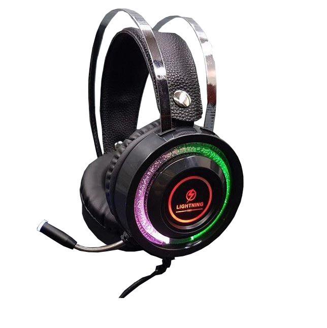 Bảng giá Tai nghe Lightning V6S - Led RGB - Jack cắm 3.5mm Phong Vũ