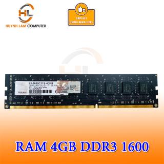 Ram 4gb g.skill ddr3 1600 viết sơn phân phối chuyên cung cấp hàng chính hãng Huỳnh Lâm Computer đóng gói theo công nghệ ép chết khi xuất xưởng thumbnail