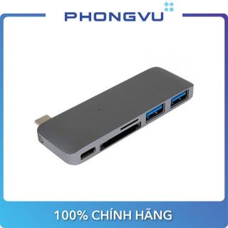 Bộ chia Hub USB-C 5 in 1 Hyper Drive HD21B - Bảo hành 12 tháng thumbnail