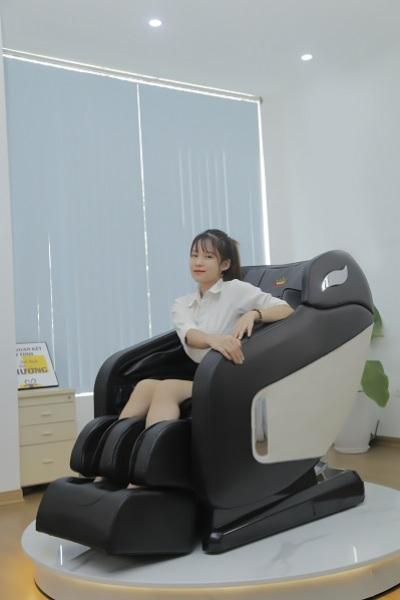 Ghế massage Queen Crown QC CX8 Nữ Hoàng Sức Khoẻ