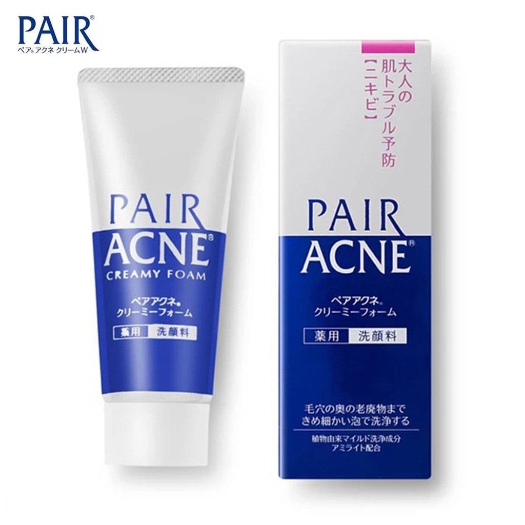 Sữa rửa mặt trị mụn Nhật Bản Pair Acne 80g