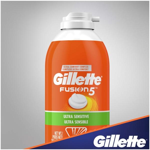 Bọt Cạo Râu Gillette Fusion5