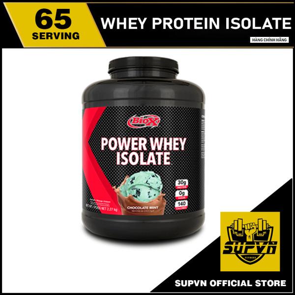 BioX Power Whey Protein Isolate 5Lbs - Sữa dinh dưỡng tăng cơ hấp thu nhanh 2.27Kg