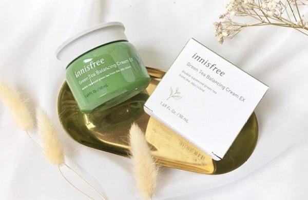 Kem Dưỡng Ẩm Trà Xanh Innisfree Green Tea 50ml tốt nhất