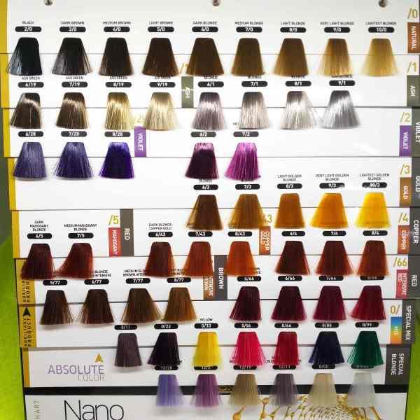 Combo kem nhuộm tóc & Oxy  Lavox Nano Complex 100ml ( 2 x 100 ml )