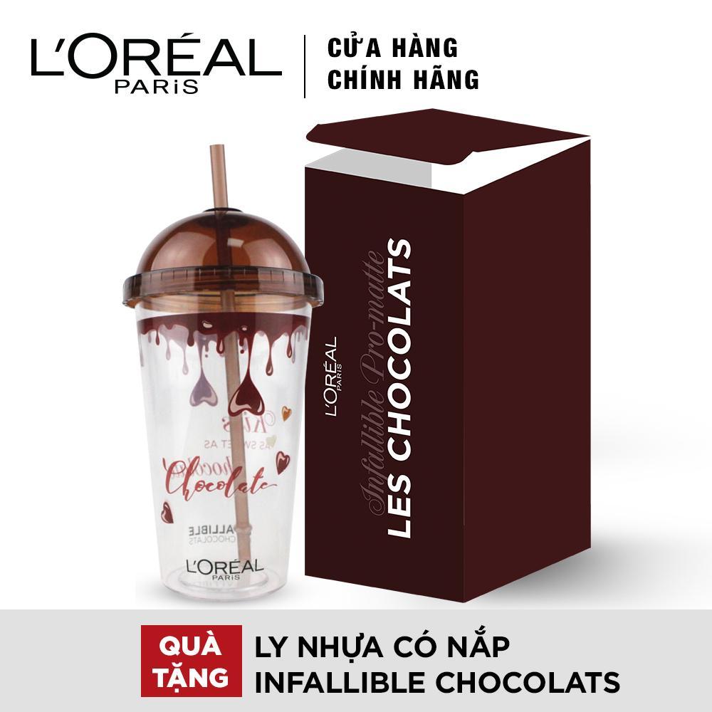 Quà tặng ly nhựa có nắp Infallible Chocolats tốt nhất