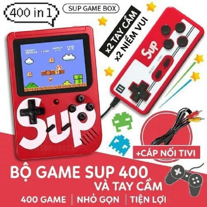 Máy Chơi Game Sup 400 Game In 1 Kèm Tay Cầm Chơi Game Nhật Bản