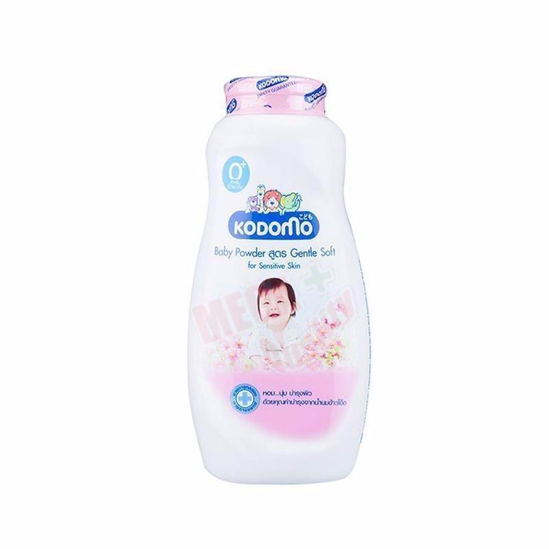 Phấn Dưỡng ẩm Cho Trẻ Kodomo 50g - Gentle Soft (hồng) TẶng 1 Quyển Tô Màu (tùy Chọn) - Phan Duong Am Cho Be By Shop Cục Cưng.