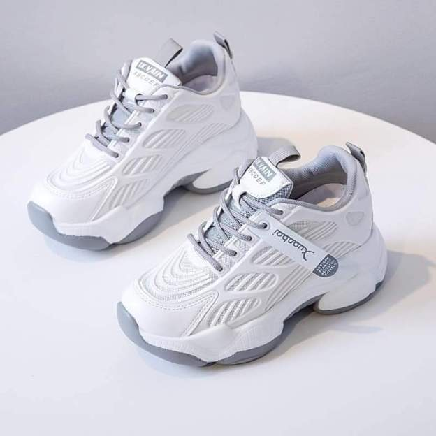 Giày thể thao nữ đế cao , giày nữ độn đế 7p siêu đẹp giá rẻ