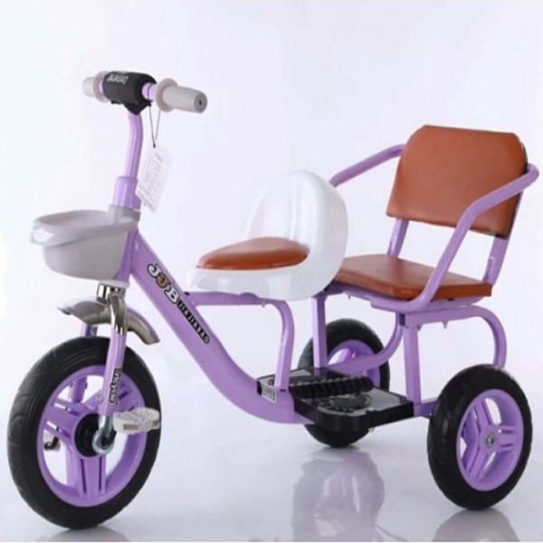 Mua Xe đạp xích lô  2 ghế cho bé- chụi lực đến 50kg
