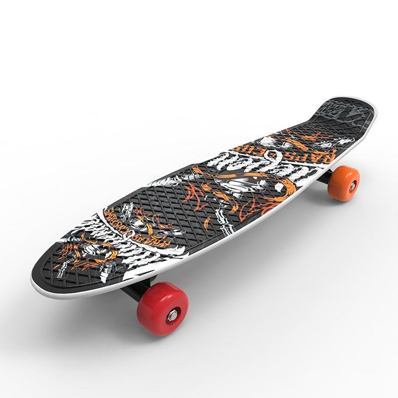 Mua [ĐƯỢC CHỌN MẪU] VÁN TRƯỢT CAO CẤP 4 BÁNH HỌA TIẾT CÁ TÍNH THỂ HIỆN PHONG CÁCH , ván trượt Skateboard Penny NHỰA PVC thể thao siêu đẹp TRƯỢT CỰC ÊM, KUA CỰC ĐÃ -VANTRUOT01