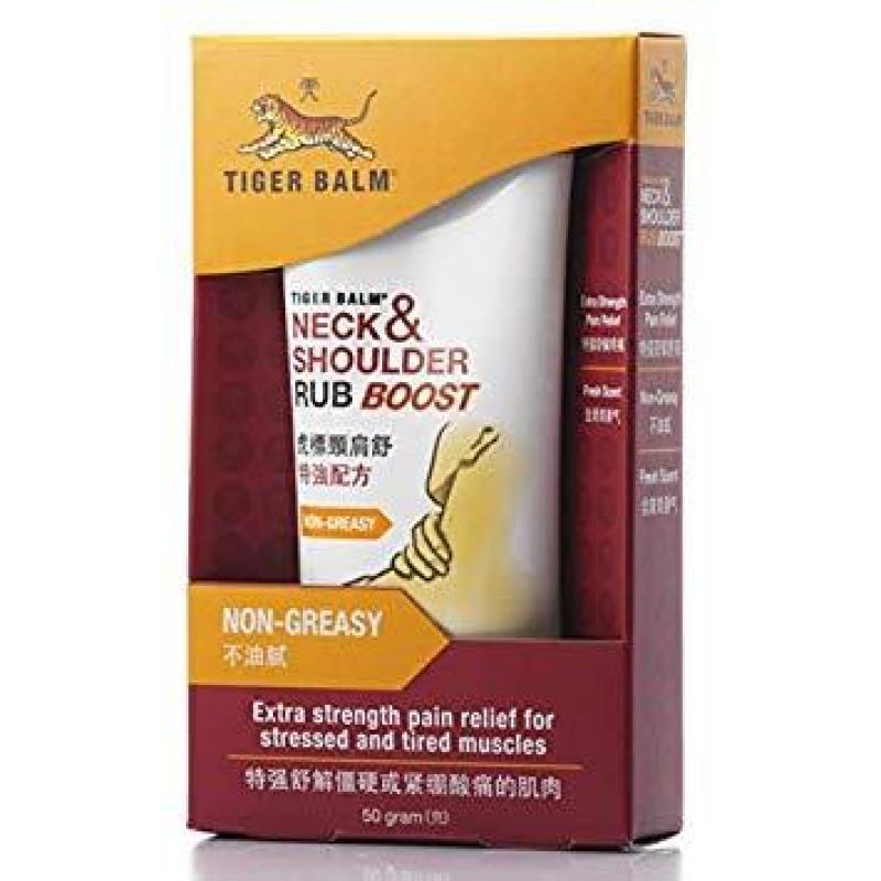 Dầu Tiger Balm Neck and Shoulder Rub Boost tốt nhất